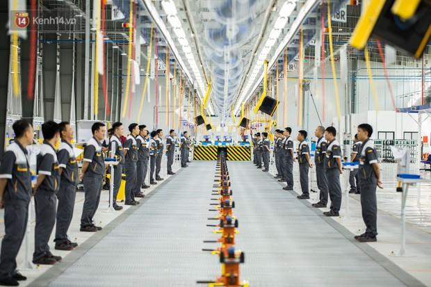 Ảnh: Tham quan công xưởng hiện đại của nhà máy sản xuất xe máy điện thông minh VinFast - Ảnh 8.