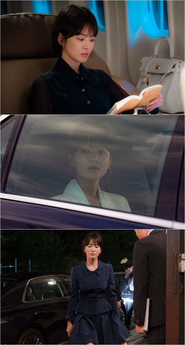 Biết chỉ là phim nhưng Song Joong Ki sẽ không thích điều này: Song Hye Kyo tựa đầu tình tứ Bạn Trai Park Bo Gum! - Ảnh 3.