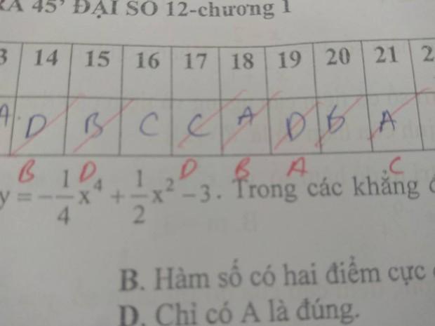 Nỗi đau lớn nhất khi đi học: Làm trắc nghiệm 10 câu thì sai đến 9 câu - Ảnh 4.