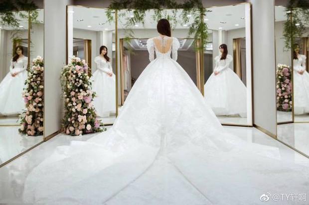 Chùm ảnh Đường Yên hoá thành công chúa đẹp hoàn mỹ với váy cưới đuôi dài 4m cuối cùng cũng được tiết lộ - Ảnh 6.