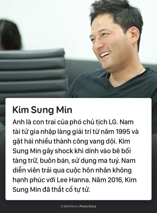 Những diễn viên Hàn Quốc xuất thân trâm anh thế phiệt nhưng lại có cuộc đời hoàn toàn trái ngược - Ảnh 7.