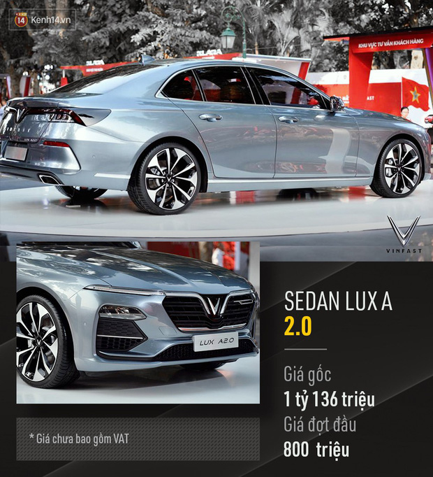 VinFast chính thức công bố giá xe mở bán đợt đầu: Sedan 800 triệu, SUV 1,136 tỷ, Fadil 336 triệu đồng - Ảnh 6.