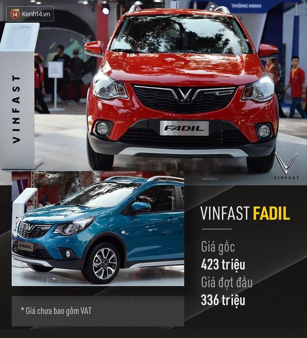 VinFast chính thức công bố giá xe mở bán đợt đầu: Sedan 800 triệu, SUV 1,136 tỷ, Fadil 336 triệu đồng - Ảnh 12.