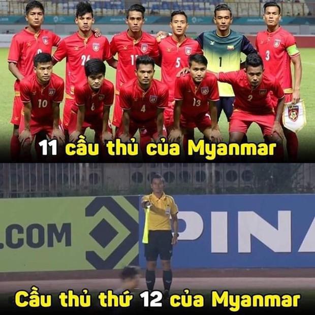 Đến fan Myanmar cũng thừa nhận trọng tài quá yếu kém khi cướp trắng bàn thắng của Việt Nam - Ảnh 6.