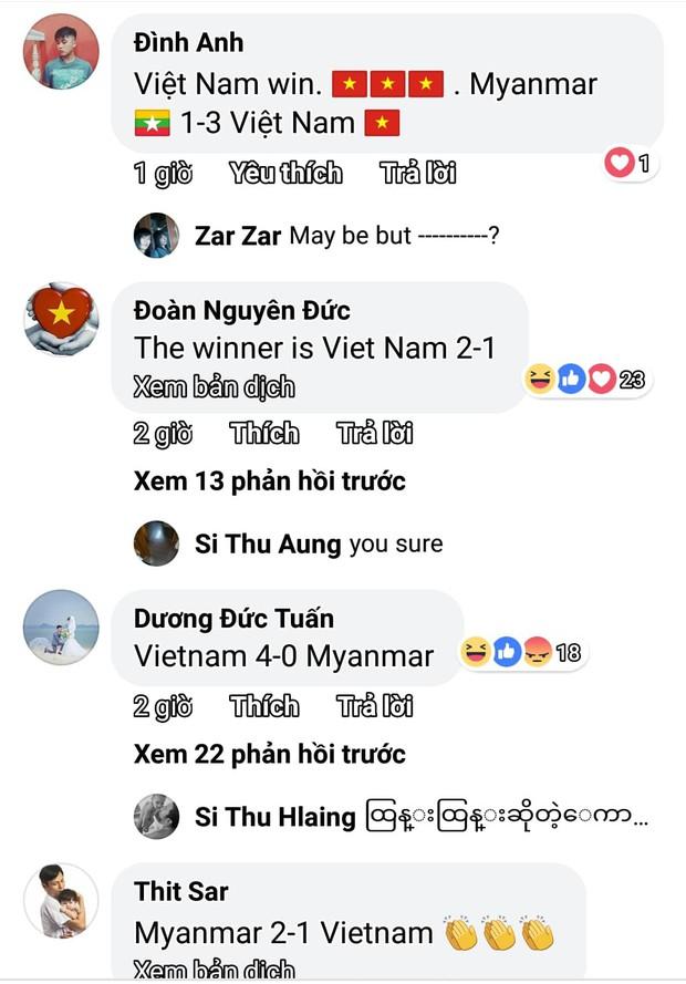 Trận Việt Nam Myanmar hôm nay: Fan 2 đội khẩu chiễn dữ dội trước giờ G - Ảnh 3.