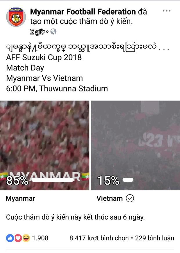 Trận Việt Nam Myanmar hôm nay: Fan 2 đội khẩu chiễn dữ dội trước giờ G - Ảnh 2.