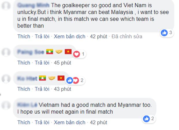Đến fan Myanmar cũng thừa nhận trọng tài quá yếu kém khi cướp trắng bàn thắng của Việt Nam - Ảnh 3.