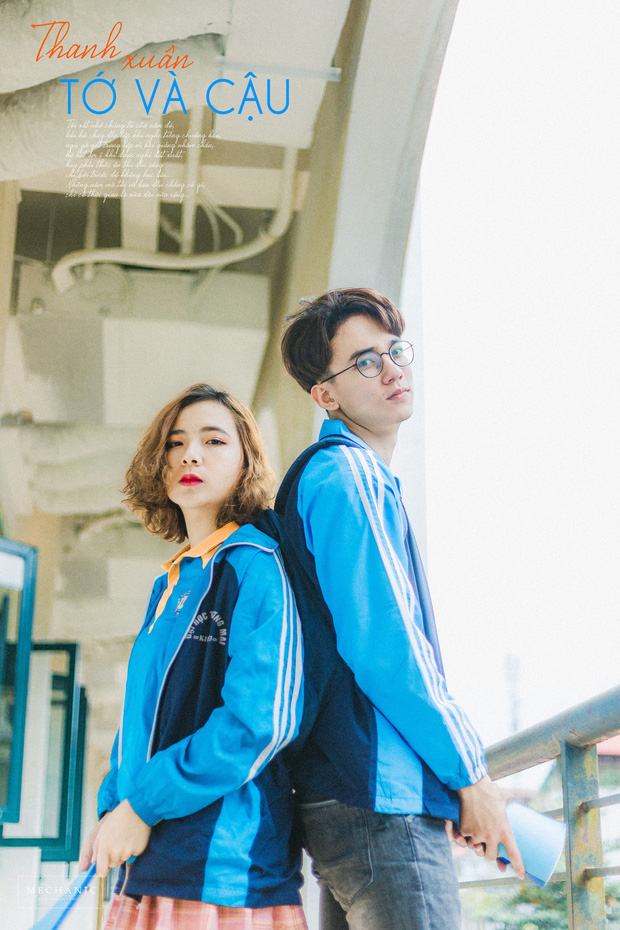 Mặc đồng phục, chụp ảnh ở những góc quen thuộc của trường, cặp đôi 10x cho ra đời bộ ảnh lãng mạn, tình bể bình - Ảnh 9.