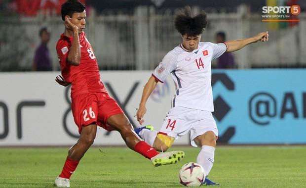 Mất oan một bàn thắng, đội tuyển Việt Nam chia điểm trên đất Myanmar - Ảnh 2.