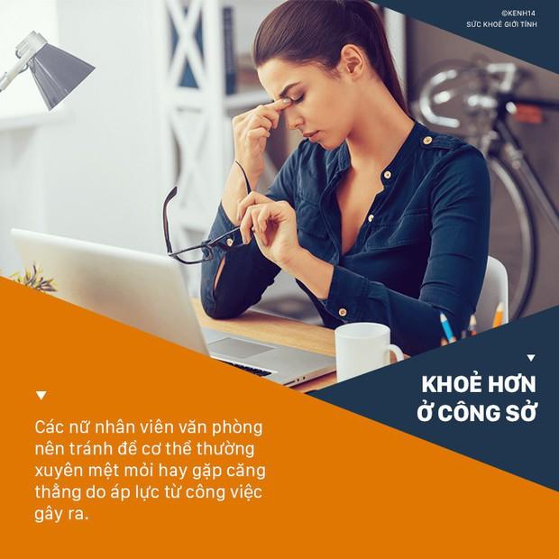 Rối loạn nội tiết vì dân văn phòng thường mắc phải 5 thói quen này - Ảnh 4.