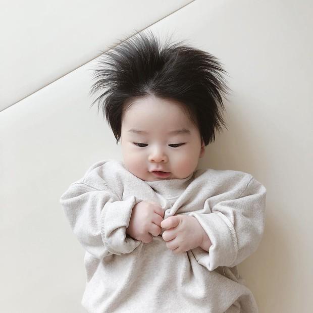 Cậu bé Hàn Quốc với quả đầu chôm chôm đáng yêu đến mức ai cũng muốn đem về nuôi - Ảnh 11.