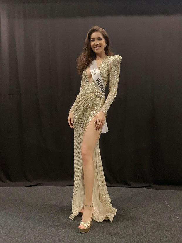 Sự kiện đầu tiên tại Miss Supranational, Minh Tú đã gây chú ý khi diện váy hở sâu khoe trọn vòng một táo bạo - Ảnh 2.