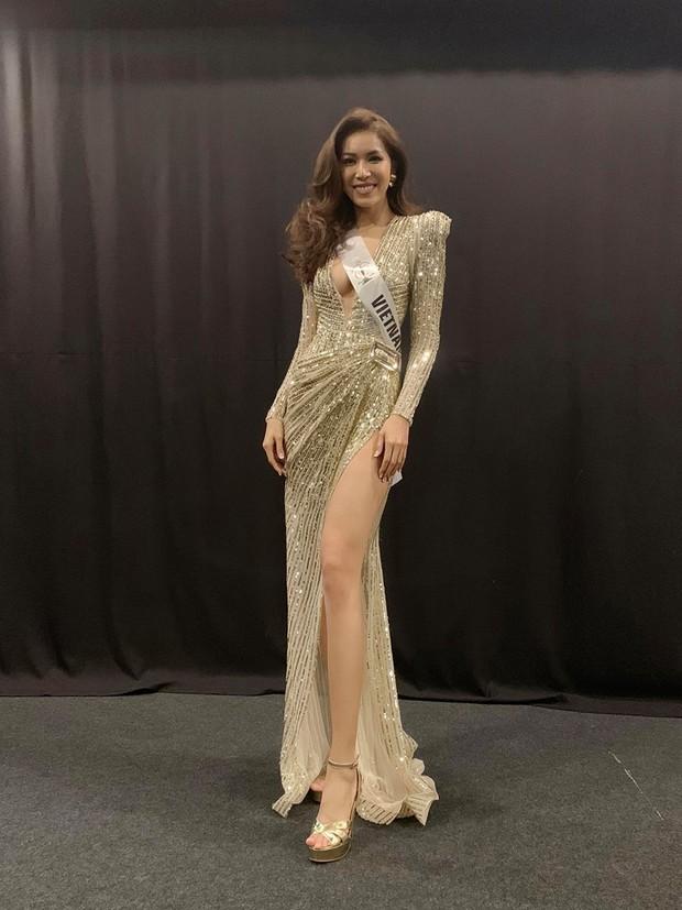 Người đẹp đại diện Phillippines diện váy dạ hội của Minh Tú, thân thiết chụp hình chung tại hậu trường Miss Supranational 2018 - Ảnh 2.