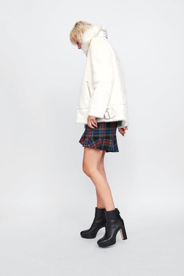 15 boots Zara giúp set đồ mùa đông của các nàng thêm vài phần sang xịn - Ảnh 12.