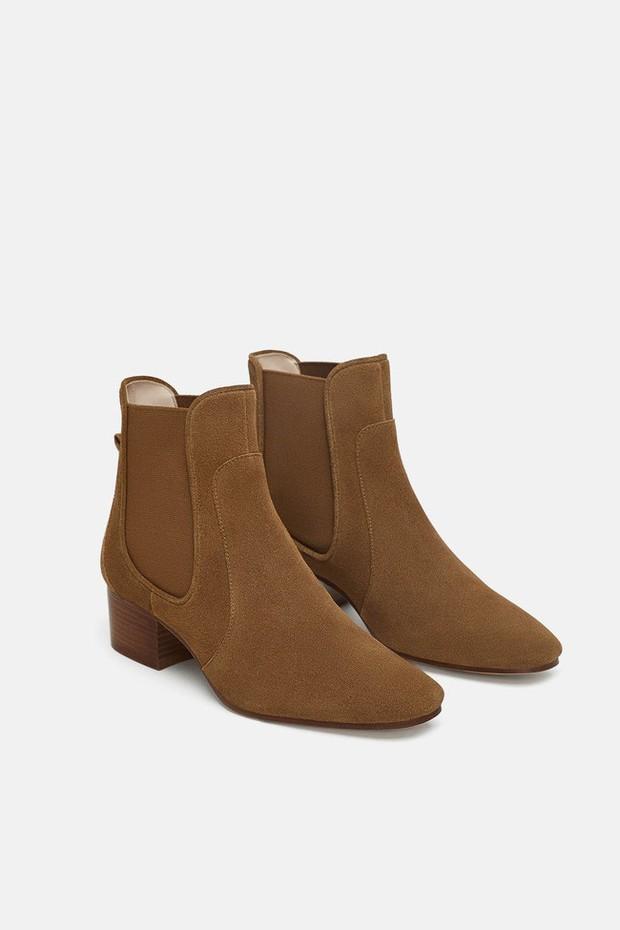 15 boots Zara giúp set đồ mùa đông của các nàng thêm vài phần sang xịn- Ảnh 4.