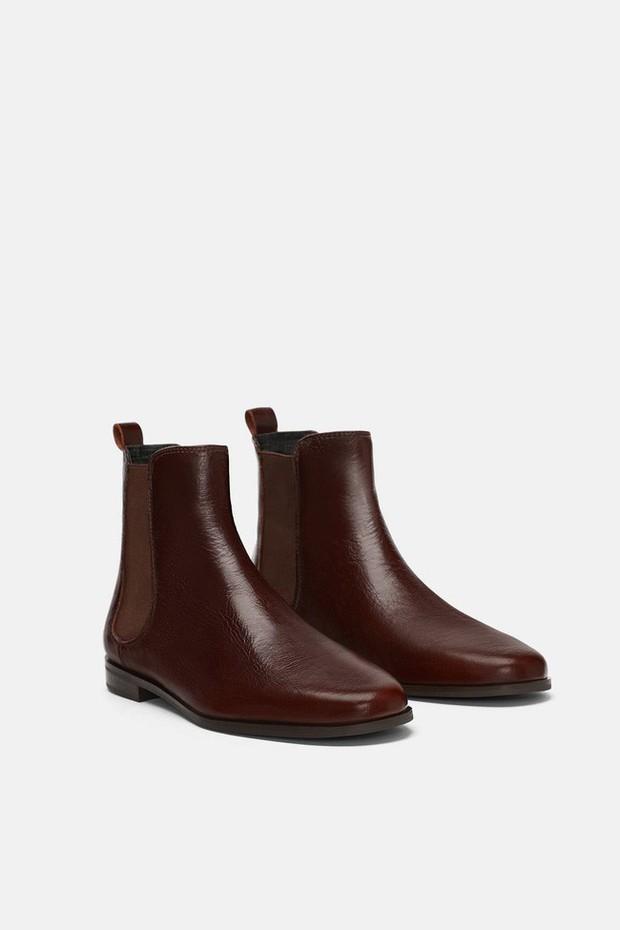 15 boots Zara giúp set đồ mùa đông của các nàng thêm vài phần sang xịn - Ảnh 6.