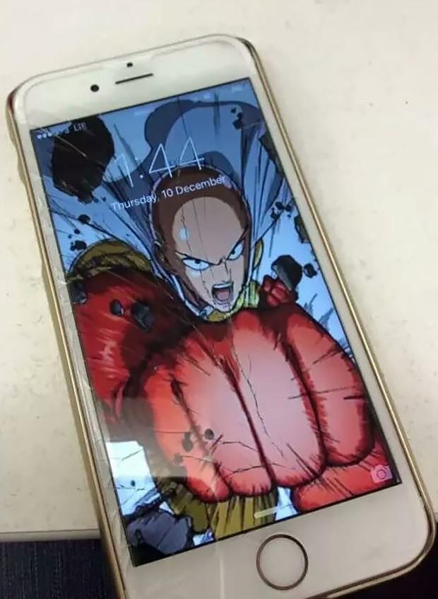 12 cách sửa smartphone vỡ màn hình cực kỳ sáng tạo, không tốn tiền mà còn rất ngầu - Ảnh 8.