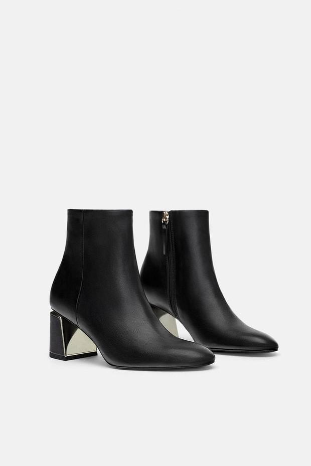 15 boots Zara giúp set đồ mùa đông của các nàng thêm vài phần sang xịn - Ảnh 8.