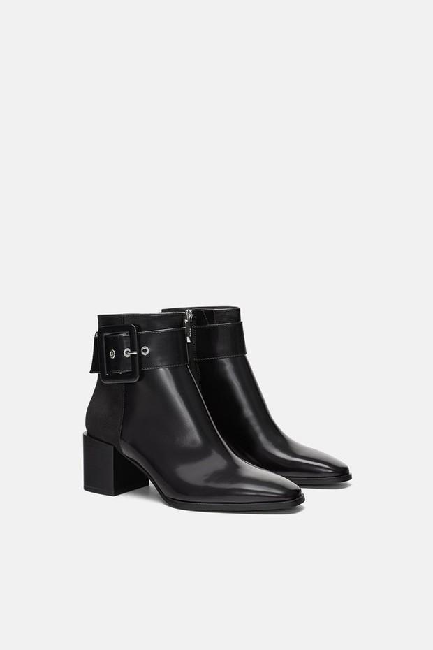 15 boots Zara giúp set đồ mùa đông của các nàng thêm vài phần sang xịn - Ảnh 10.