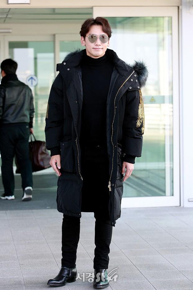 Kim Tae Hee đẹp rạng rỡ trên đường sang Việt Nam, ông xã Bi Rain cũng bất ngờ có mặt tại sân bay - Ảnh 13.
