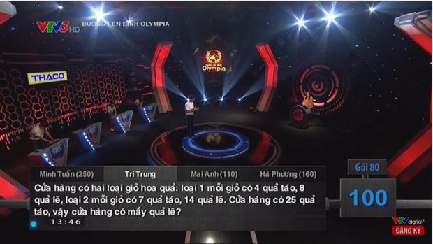 3 câu hỏi siêu dễ trong Olympia nhưng đánh lừa cả 4 thí sinh lẫn khán giả trường quay, công bố đáp án ai cũng shock - Ảnh 1.