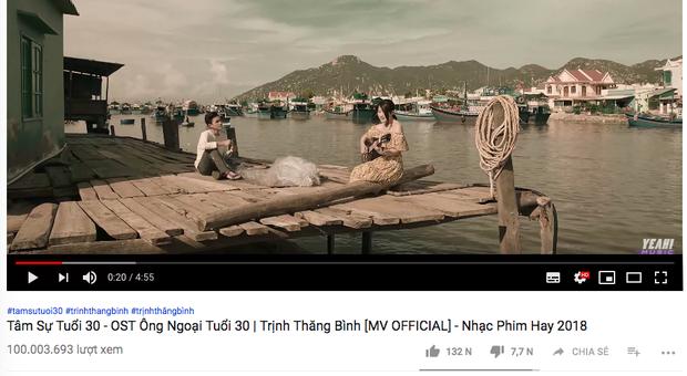 Cuối cùng Trịnh Thăng Bình cũng có bản hit 100 triệu view đầu tiên trong sự nghiệp! - Ảnh 1.