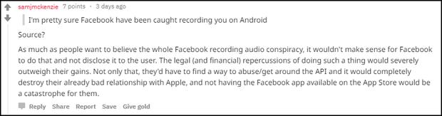 Bị treo iPhone X, tá hỏa phát hiện Facebook Messenger thầm nghe lén bấy lâu nay? - Ảnh 4.
