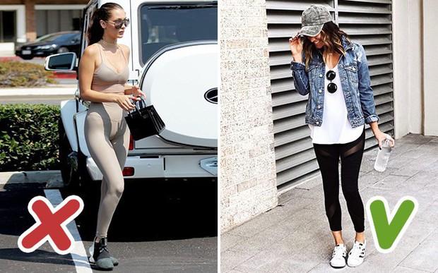 5 kiểu quần legging chị em cần loại ngay khỏi tủ nếu không muốn bị kém duyên trong mắt người khác - Ảnh 4.