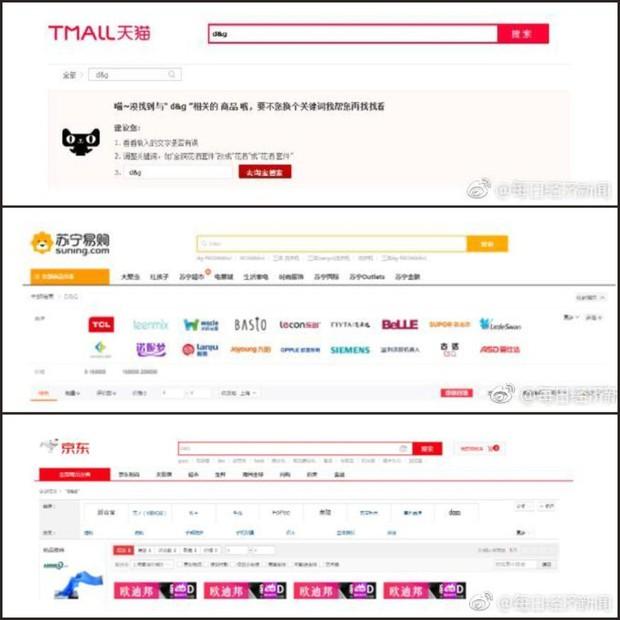 Sau scandal phân biệt chủng tộc, sản phẩm Dolce&Gabbana bị xoá sạch trên Taobao và các web bán hàng lớn ở Trung Quốc - Ảnh 2.