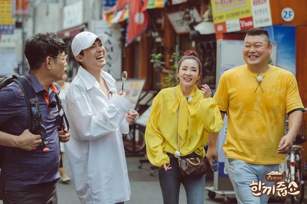 Sao nữ Hàn Quốc khi bị nhắc tới tình cũ trên show thực tế: Người vui vẻ, kẻ bật khóc - Ảnh 11.