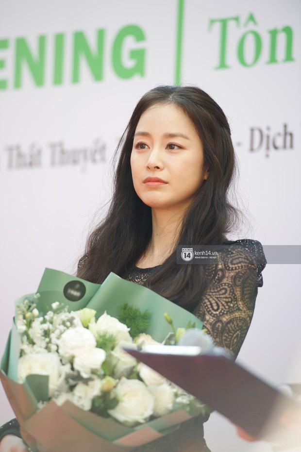 Nữ thần Kim Tae Hee quá xuất thần, thể hiện đẳng cấp mỹ nhân đẹp nhất xứ Hàn tại sự kiện Hà Nội - Ảnh 8.