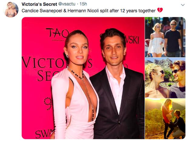 Rộ tin thiên thần nội y Candice Swanepoel chấm dứt cuộc tình 13 năm vì bị chồng chưa cưới phản bội - Ảnh 2.