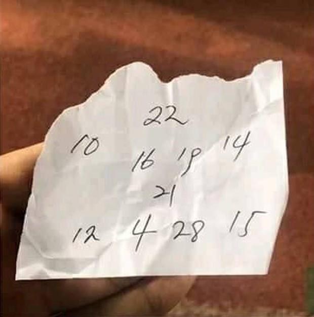 HLV Park Hang-seo gửi mẩu giấy bí mật cho Duy Pinky và đây là điều cộng đồng mạng phát hiện - Ảnh 4.