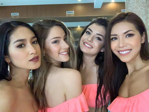 Minh Tú khoe body cực chuẩn trong buổi chụp ảnh bikini cùng dàn mỹ nhân Miss Supranational 2018 - Ảnh 4.