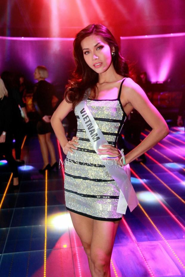 Minh Tú bị bầm đen chân vì vỡ mạch máu trước ngày thi bikini tại Miss Supranational2018 - Ảnh 3.