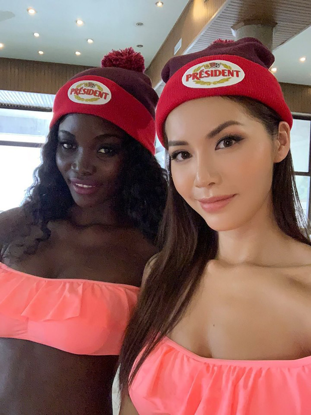 Minh Tú khoe body cực chuẩn trong buổi chụp ảnh bikini cùng dàn mỹ nhân Miss Supranational 2018 - Ảnh 3.