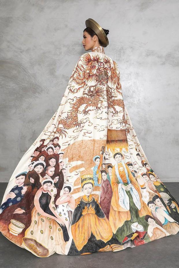 Minh Tú chọn Áo dài truyền thống là quốc phục, mang hình ảnh Con rồng cháu tiên đến Miss Supranational 2018 - Ảnh 3.