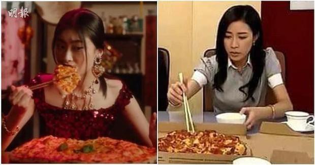 """Cùng là cầm đũa gắp pizza, """"Nhàn Phi Xa Thi Mạn được netizen bảo vệ giữa scandal D&G sỉ nhục người Trung Quốc - Ảnh 3."""