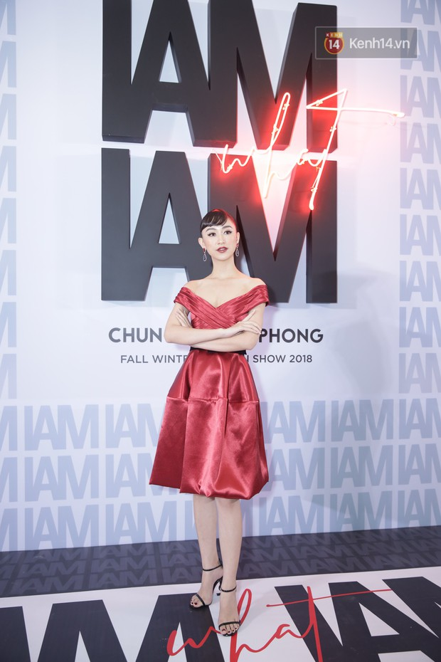 Thảm đỏ show Chung Thanh Phong: Khả Ngân thử style lạ, Quỳnh Anh Shyn giật giũ như chim sẻ đi mưa - Ảnh 29.