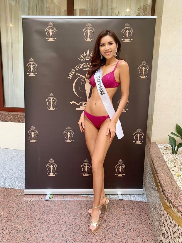 Minh Tú diện bikini khiến chúng ta nhớ đến Phạm Hương thuở nào - Ảnh 7.