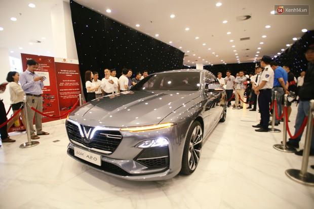 Sau màn ra mắt ấn tượng tại Hà Nội, VinFast tiếp tục thu hút hàng nghìn người dân tới tham quan và đặt mua tại Sài Gòn - Ảnh 3.