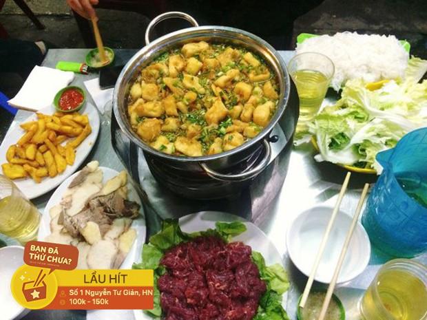 Thời tiết này ở Hà Nội mà không tự thưởng cho mình bữa lẩu riêu cua thì thật là lãng phí - Ảnh 3.