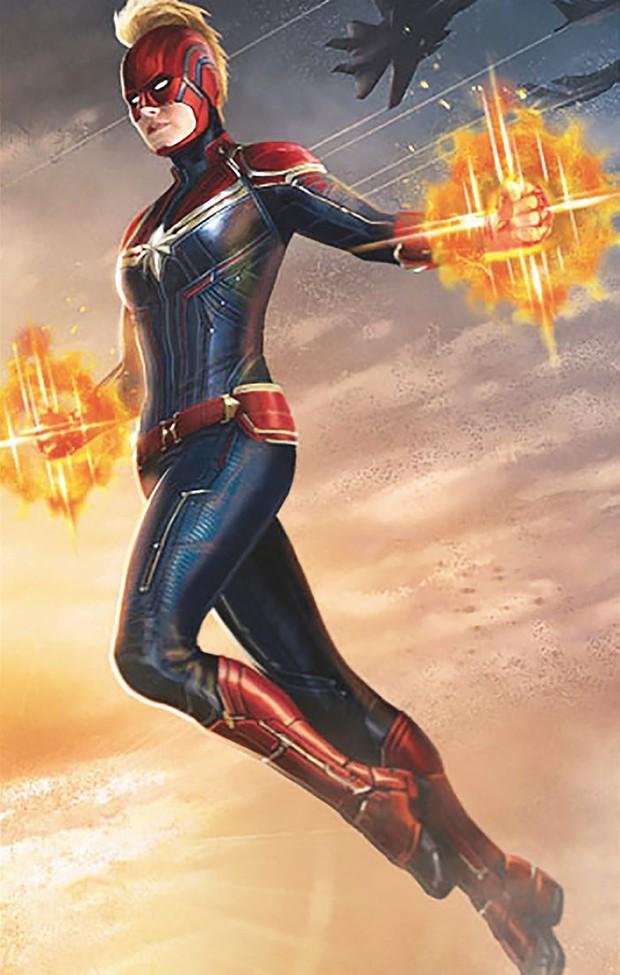 """Hú hồn với thiết kế mũ bảo hiểm độc nhất vô nhị của """"chị đại"""" Captain Marvel - Ảnh 2."""