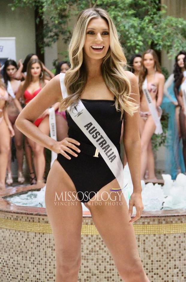 Minh Tú đọ dáng gợi cảm cùng dàn người đẹp Miss Supranational 2018 trong phần thi áo tắm - Ảnh 7.
