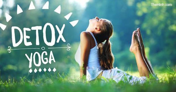 """12 bài tập Yoga giúp thanh lọc cơ thể """"cực nhanh"""", tập ngay kẻo muộn - Ảnh 1."""