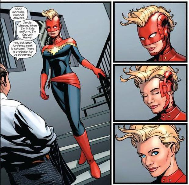 """Hú hồn với thiết kế mũ bảo hiểm độc nhất vô nhị của """"chị đại"""" Captain Marvel - Ảnh 3."""