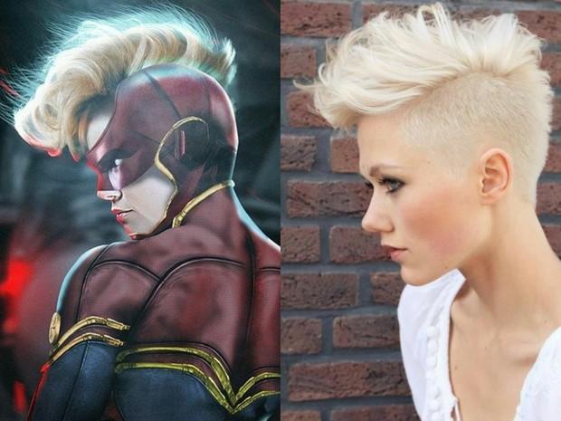 """Hú hồn với thiết kế mũ bảo hiểm độc nhất vô nhị của """"chị đại"""" Captain Marvel - Ảnh 4."""