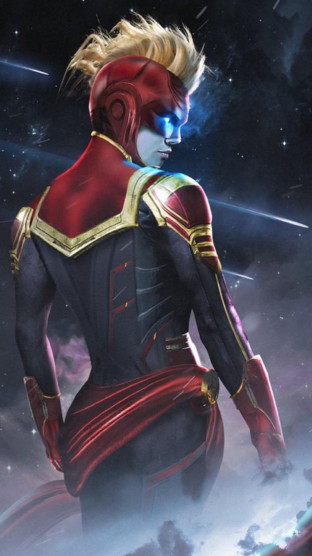 """Hú hồn với thiết kế mũ bảo hiểm độc nhất vô nhị của """"chị đại"""" Captain Marvel - Ảnh 5."""