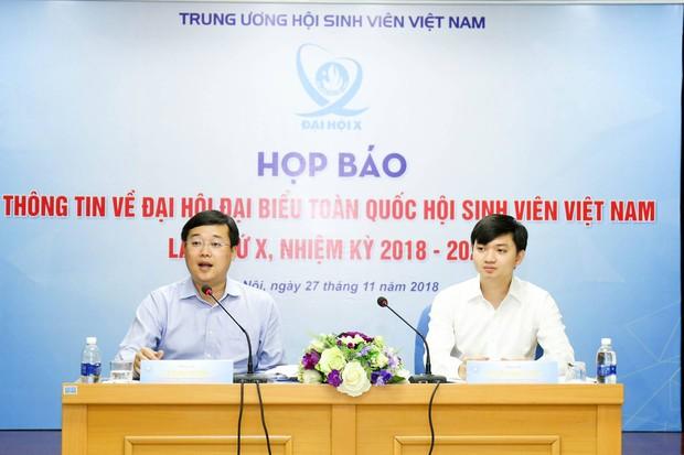 Họp báo giới thiệu Đại hội đại biểu toàn quốc Hội Sinh viên Việt Nam lần thứ X nhiệm kỳ 2018 - 2023 - Ảnh 2.