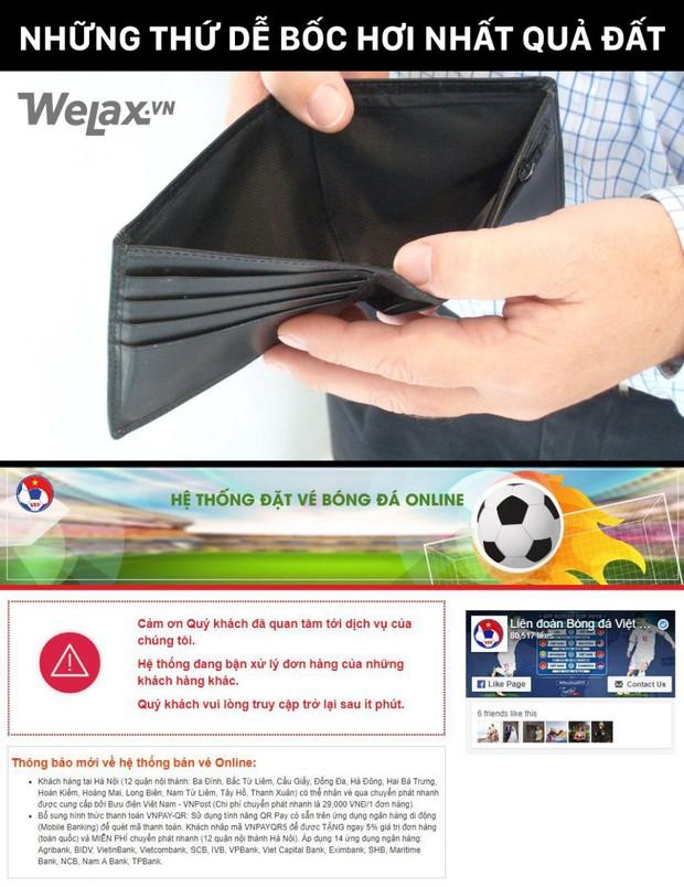 Buôn may bán đắt như VFF: Hết sạch 20.000 vé xem bóng đá chỉ trong thời gian bạn kịp húp bát mì - Ảnh 3.